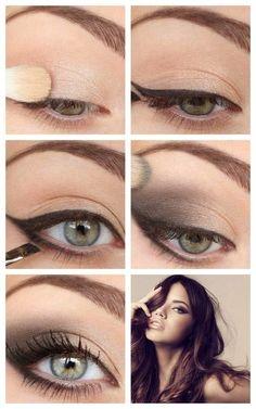 Elegant Cat Eye Makeup