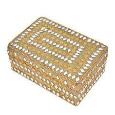 Christmas Gift Ideas Golden Color Box for Women