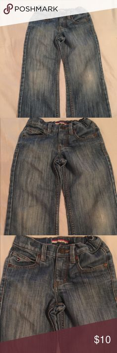 Tommy Hilfiger Jeans Size 6 Tommy Hilfiger Boys Size 6 Denim Jeans. Adjustable waist. Jeans are in excellent condition Tommy Hilfiger Bottoms Jeans
