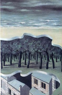 Rene Magritte - 'Populaire Panorama' Rene Magritte  ( 1898 - 1967 ) More At FOSTERGINGER @ Pinterest