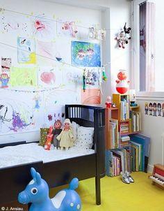 Eklektische Kinderzimmer Design Ideen - einzigartiges Interieur