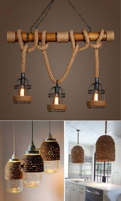 Bamboo Lamp, Small Space Bedroom, Diy Home Decor, Room Decor, Doll Furniture, Fashion Room, Light Decorations, Ceiling Lights, Good Ideas