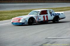 #NASCARThrowbackThursday - @AllWaltrip's red white and blue Pepsi Chevy from 1983. Only raced once. pic.twitter.com/oO1pMoLY2V.  #OLDSCHOOLNASCAR