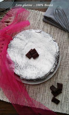 Torta soffice ricotta e cacao (senza glutine)