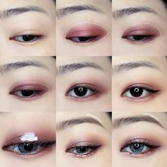 Korean makeup tutorials - Beauty advice may help for beginners to obtain comfortable and ultimately craft their very own beauty regimen. The subsequent article will reveal need to start your new beauty routine today. Korean Beauty Tips, Korean Makeup Tips, Korean Makeup Look, Korean Makeup Tutorials, Asian Eye Makeup, Beauty Advice, Asian Beauty, Makeup Trends, Makeup Inspo