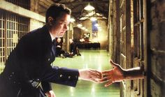 "Frank Darabont ""The Green Mile"" - Tom Hanks as Paul Edgecomb and Michael Clarke Duncan as John Coffey"