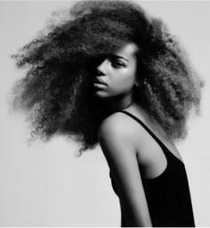 Afro hair by Aura
