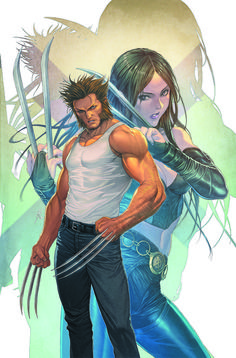 Biceps Claws Cleavage Gra Nt Gra Nt Background Homare Fools Art Marvel Midriff Official Art Wolverine X Men Zoom Layer Image View