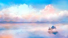 Anime carte postale: Dernière Sonate Art par SugarmintsArtstore