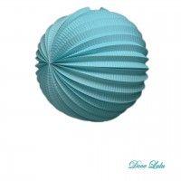 Acordeon de Papel Azul Claro 25cm