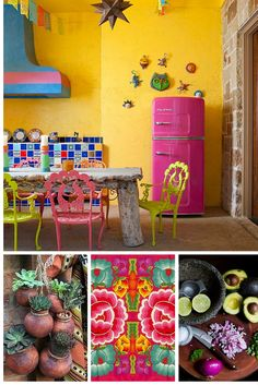Add a splash of color to your life with Big Chill! Houzz gives you 14 reasons to give in to color. With a range of colors available, giving your kitchen some personality is a cinch. #BigChill #Retro