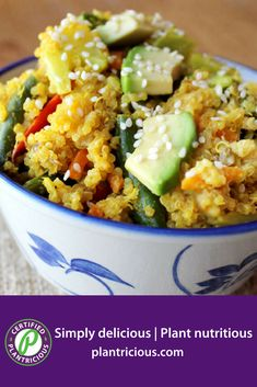 Quinoa Curry with Mixed Vegetables - Straight Up Food Whole Food Recipes, Diet Recipes, Vegetarian Recipes, Healthy Recipes, Frozen Vegetables, Mixed Vegetables, Plant Based Diet, Plant Based Recipes, Vegan Food