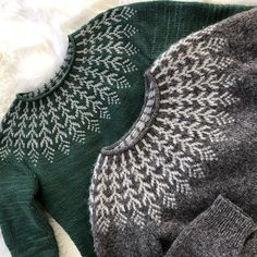 Hello! Fern & Feather is now available for download on Ravelry! (Link in profile) All of my downloadable patterns are currently available at 3 for the price of 2 (buy 2 patterns get a 3rd free) with code: 3FOR2. This Icelandic pullover is worked top down and in the round from the neckline, knits up really quickly with worsted weight yarn, and is completely seamless. The yoke chart is easy to follow and this sweater makes a great first colorwork yoke project. If you'd like, you can join in...
