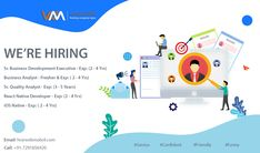 WebMobril Technologies is the best Web, Mobile App Development and Digital Marketing Company in India. Hire us for creative app development and design services. Help Wanted Ads, Hiring Now, Business Analyst, Job Opening, Design Development, Service Design, Opportunity, Digital Marketing, Social Media