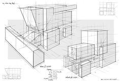FZD School Feng Zhu Perspektiv Drawing