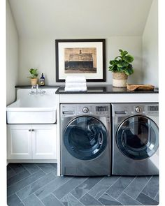 "840 Likes, 37 Comments - SHAVONDA GARDNER |SG STYLE (@sgardnerstyle) on Instagram: ""Doing a little late night Pinterest trolling and I keep coming back to this laundry room I happened…"""