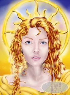 Eos is the Goddess of the Dawn and a Titaness in Greek mythology. Eos brother is Helios (God of Sun) and her sister is Selene (Goddess of Moon). Copyright since 2016 - Tricia Danby - All rights reserved
