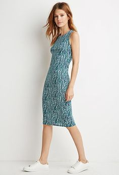 Abstract Print Bodycon Dress | Forever 21 - 2000172683