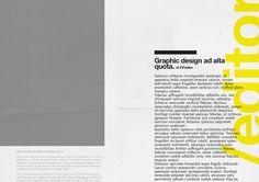 a/lab - Tabloid - [Editorial design] by Andrea Mastroluca, via Behance