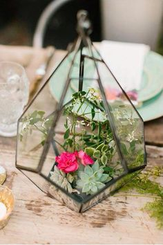 Terraniums wedding