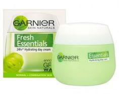 Garnier Skin Naturals Fresh Essentials 24Hr Hydrating Day Cream - Normal/Combination Skin 50ml $8.25 - Protects skin against external aggression w/ vitamin E