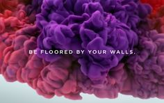 Drawing inspiration from the work of Mark Rothko and Georgia O'Keeffe, video production company Psyop produced this mesmerizing ad for Sherwin-Williams' Emerald Paint Collection.