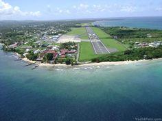 Pigeon Pt. Tobago The runway....my beautiful twin island Country xo♥