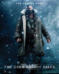 Batman The Dark Knight Rises Bane - plakat - 40x50 cm  Gdzie kupić? www.eplakaty.pl