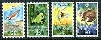 WWF - Mint Set of 4 Liechtenstein, 1989
