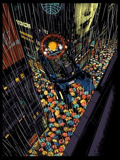 Spinner - tribute to Balde Runner - By Raid71   Bottleneck Art Gallery