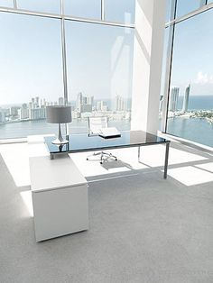 Contemporary Glass Office Furniture