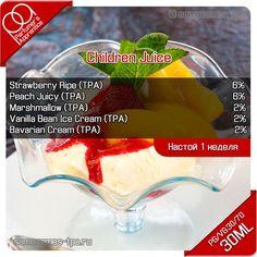 Children Juice e liquid recipe #vape #ecig [arom-team.com]