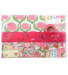 Набор для скрапбукинга Po om Po - Pink