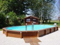 7 meilleures images du tableau piscine en kit haut de. Black Bedroom Furniture Sets. Home Design Ideas