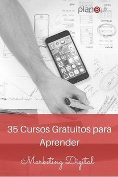 35 cursos gratuitos para aprender marketing digital.