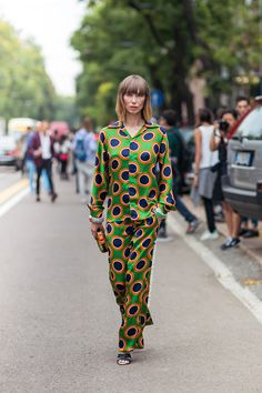 Tell me about your outfit, what you are wearing? - Im wearing a Dsquared2 pajama suit and a...
