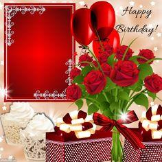 Happy Birthday My Hubby, Happy Birthday Cake Pictures, Happy Birthday Wishes Photos, Birthday Wishes Flowers, Happy Birthday Frame, Happy Birthday Posters, Happy Birthday Celebration, Happy Birthday Flower, Birthday Frames