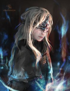 Dark Souls III Firekeeper by Celalaa