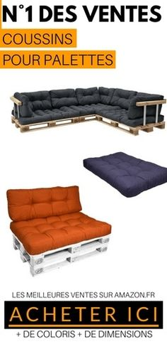 vidaxl canap s de jardin palette 4 pcs coussins sable bois. Black Bedroom Furniture Sets. Home Design Ideas