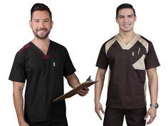 Tanyre | El uniforme de los expertos Scrubs Uniform, Men In Uniform, Cute Scrubs, Medical Scrubs, Polo Ralph Lauren, Polo Shirt, Mens Tops, Shirts, Mayo