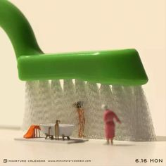 Miniatures daily life