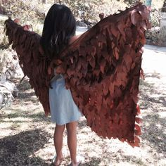 Young Maleficent Wings Brown Maleficent Costume Young Maleficent, Maleficent Wings, Maleficent Costume, Halloween Costumes For Girls, Diy Costumes, Halloween Party, Costume Ideas, Sleeping Beauty Fairy Tale, Brown Bird