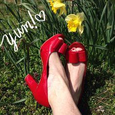 "Spotted while shopping on Poshmark: ""The 'Vice' peep toe""! #poshmark #fashion #shopping #style #Franco Sarto #Shoes"