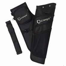 [Outdoor Sports] High quality Black archery quiver bag for recurve bow and compound bow arrow