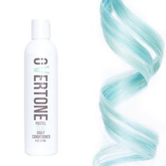 Enjoy a cool cerulean shade? Use our Daily Conditioner whenever you shampoo! The Daily Conditioner gently deposits color to replenish what washing your hair removes. Enjoy your color looking fresh eve