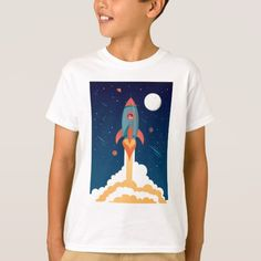 Upgrade your style with Space Shuttle t-shirts from Zazzle! Browse through different shirt styles and colors. Search for your new favorite t-shirt today! Space Theme, Space Shuttle, Shirt Style, Your Style, Shirt Designs, Mens Tops, T Shirt, Color, Collection
