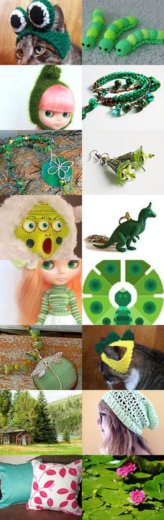 Its Not Easy Being Green by Jennifer on Etsy--Pinned with TreasuryPin.com