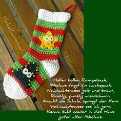 Mein eigens kreierter Nikolaus-Socken