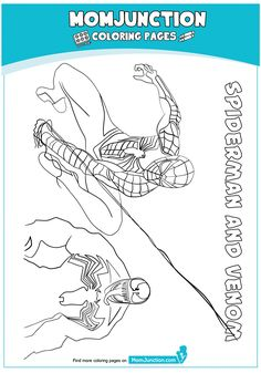 The Spiderman Ready Coloring Page Coloring For Kids, Colouring, Coloring Pages, Iron Spider Suit, Spiderman Coloring, Color Sheets, Hands, Facebook, Drawing