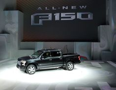 The 2015 Ford F-150 is revealed to the media during the 2014 North American International Auto Show held at Cobo Center in downtown Detroit on Monday, January 13, 2014.